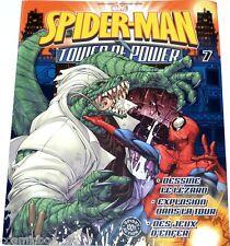 Fascicule SPIDER-MAN n° 7 Tower of Power MARVEL comics super heros booklet book