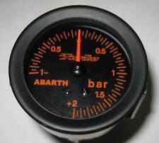 Manometro Pressione Turbo BOOST Abarth Lancia Delta -1+2 bar 52mm  Fiat 131 112
