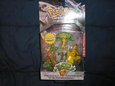 Pokemon Diamond Pearl Figure Pikachu Carnivine Sudowood