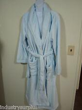 """Paddi Murphy Softies 9620-60 Blue Plush Velour 48"""" Wrap Robe Size 1X-2X"""