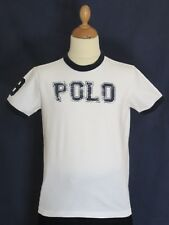 Superbe T-Shirt blanc RALPH LAUREN - Comme Neuf - Taille : 8 ans