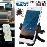 Universal 360°Rotation Car Air Vent Mount Cradle Holder Stand for Cell Phone&GPS