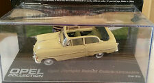 """DIE CAST """" OLYMPIA REKORD CABRIO LIMOUSINE 1954 """" OPEL COLLECTION SCALA 1/43"""
