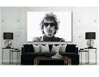 Bob Dylan - Canvas Wall Art Print - Various Sizes