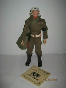Vintage 1964 GI JOE Action Soldier Military Police ''M.P''  Blonde Head  NR !!!!