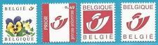 Belgien aus 2003 ** postfrisch MiNr.3223-3226 - Stiefmütterchen, Postemblem!