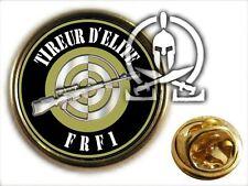 """..: Pin's :.. BREVET TIREUR D'ELITE """" FRF1 """" sniper TE TP fusil TIR précision"""