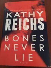 Temperance Brennan: Bones Never Lie by Kathy Reichs (Hardcover, Large Print)