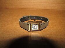 Vintage Bulova Ladies Wristwatch Watch Manual Wind up N7 - Square - Project