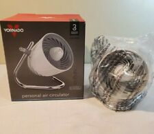 Vornado Pivot 3-Speed Compact Personal Air Circulator Desk Fan - White