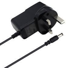 UK 9 Volt Power Supply AC Wall Adapter 5.5/2.5mm 9V 9VDC 300ma Center Negative