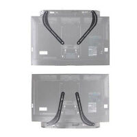 Universal Steel Soundbar Speaker Bracket Mount Above or Below TV - Corner Mount