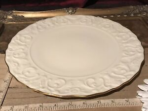 """Vintage Lenox GEORGIAN COLLECTION Round Cake/Serving Plate 11 1/2"""""""
