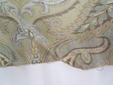 Sherrill Furniture Fabric Pattern Abigail Seafoam 22 In x 57 In Faux Damask