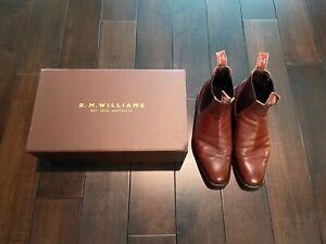 RM Williams Craftsman - Size 10 US/ 9G AUS - Dark Tan