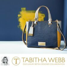 Avon Tabitha Webb blue and mustard Wildside Tote Hand Bag RRP £80