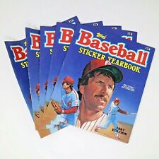 Lot of 5 NEW Topps 1987 Edition Baseball Sticker Yearbook Mike Schmidt Cover