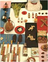 Document vintage issu de magazine année 70/80  épices asiatiques