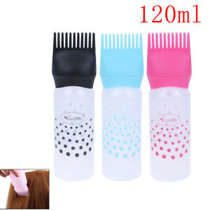 Hair Dye Bottle Applicator Brush Dispensing Hair Coloring Dyeing Accessor.BI