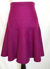 Carolina Herrera  Wool Purple Skirt NWT Retail $445 Price $170 Size 2