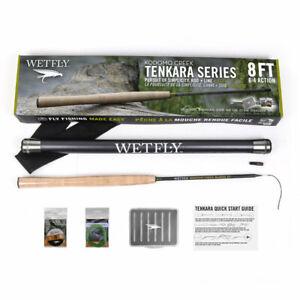Wetfly Komodo Tenkara Fly Fishing Rod Kit 8ft 6:4