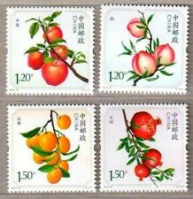 China 2014-15 Fruit Stamps 水果 Apple etc