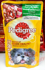 Pedigree Beef and Chicken Chunks Flavour in Gravy Dog Food 130g Good Health