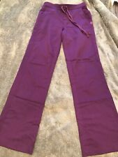 Healing Hands Purple Label Modern Fit Taylor Scrub Pant Eggplant Size Xs Tall