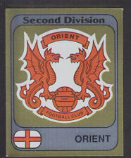 Panini - Football 82 - # 363 Orient Foil Badge