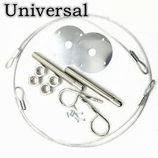 Muscle Auto Engine Locks Bonnet Locking Hood Kit Hair Pin Style Universal New