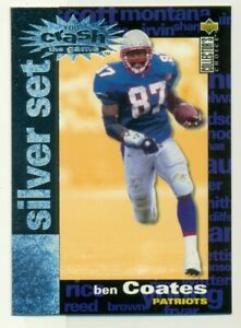 1995 Upper Deck Ben Coates #C26 Football Card OS2.