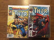 Marvel 1998 The Mighty Thor 1-63 Not Complete Heroes Reborn John Romita Jr
