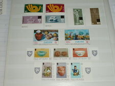 Europa cept 1973 hasta 1976-malta, Isle of Man, entre otros, - véase foto-post frescos