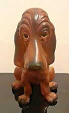 Vtg Hound Dog Figurine 7� Tall