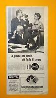 Pubblicita'Advertising Originale Vintage COCA-COLA / ARTE GIAPPONESE 1959 (A29)