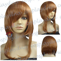 16 inch Hi_Temp Series Light Brown Shaggy cut Cosplay DNA Wigs 73LLB