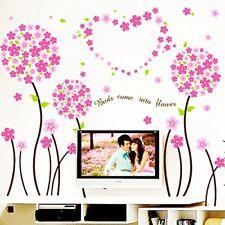 Pandora Flowers Border Wall Sticker Removable PVC Vinyl Mural Art Decal Poster