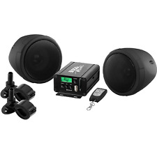 "Boss Audio ATV Sound System, 3"", Amplifier, Black"