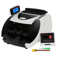 Money Bill Currency Counter Counting Machine Counterfeit Detector Uv Mg Cash
