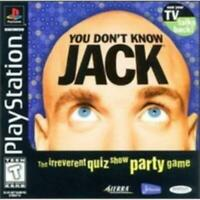 You Don't Know Jack Playstation Game PS1 Used