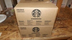 Starbucks Flavored K-Cup Coffee 128 Pods — Variety Pack for Keurig