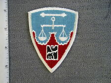 Nurenberg District War Crime Trial by Best Emblem for Western Costume for movie