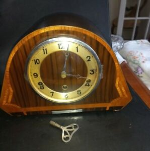 A Superb Vintage Franz Hermle Mantle Clock  Westminster Chime For repair