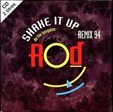 ROD - SHAKE IT UP (REMIX 94) - FRENCH CARDBOARD SLEEVE CD SINGLE 2 TRACKS