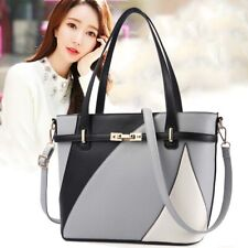Women PU Leather Crossbody Shoulder Handbags Messenger Tote Bag Satchel Purse