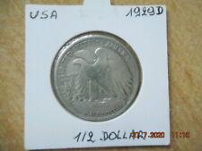 USA 1 1/2 dollar 1929 D