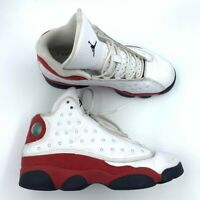 Nike Air Jordan Boys Retro 13 OG Chicago GS Basketball Shoes White 414574-122 6Y