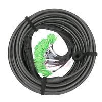 144 Strand SC APC SingleMode 9/125 10M Outdoor Fiber Optic Pigtail Patch Cord