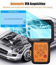 Automotive OBD2 Scanner ABS, SRS, BRT, DPF Injector TPMS EPB Foxwell NT650 Elite