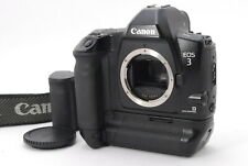 """ Mint "" Canon EOS-3 35mm Film Camera Body + Battery Pack BP-E1 From Japan E121"